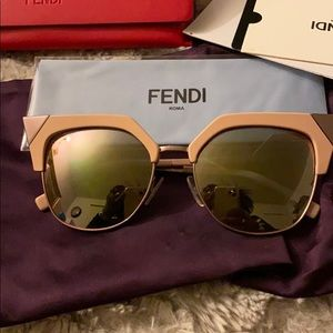 Fendi pink sunglasses